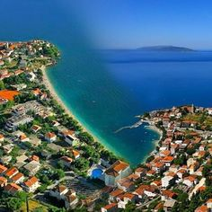 Gradac- aerial view