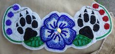 Native Beading Patterns, Beaded Flowers Patterns, Beadwork Designs, Beaded Earrings Patterns, Bead Patterns, Indian Beadwork, Native Beadwork, Native American Beadwork, Beading Projects