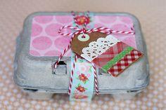 Cute Way to Give One-Half Dozen Cupcakes  |  eighteen25