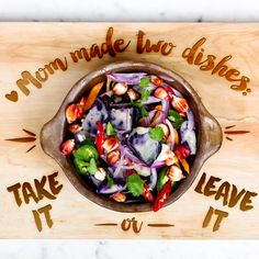 Mom's Two Choices Only Menu! #MothersDay #Cooking