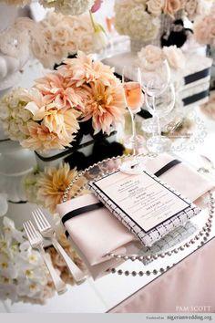 Place Setting Ideas For Your Wedding... | Nigerian Wedding
