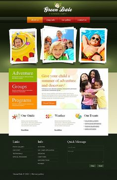 Green Dale Moto CMS HTML Templates by Delta
