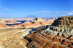 A quick dip in Lake Powell | TrekAmerica Blog