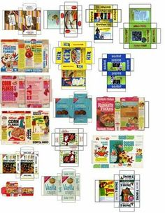 7 Best Images of Dollhouse Grocery Printables - Dollhouse Miniature Printables Food, Free Dollhouse Printables Food and Baby Doll Food Printables Dollhouse Miniature Tutorials, Miniature Crafts, Diy Dollhouse, Miniature Dolls, Dollhouse Miniatures, Victorian Dollhouse, Modern Dollhouse, Haunted Dollhouse, Miniature Houses