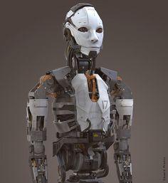 ArtStation - 인간 - 로봇 디자인, 에드워드 Pronin
