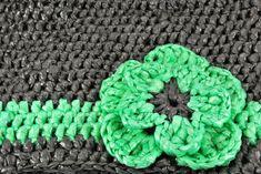 Cómo hacer crochet con bolsas