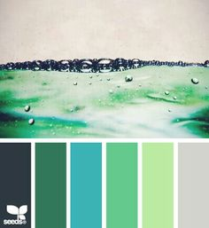 I really like this for wedding colors. Could be ocean, could be summer. Very versatile. ~ Geri @TrulyYoursbyG