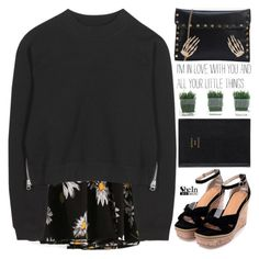 """all the little things"" by scarlett-morwenna ❤ liked on Polyvore featuring Acne Studios, Prada and vintage"