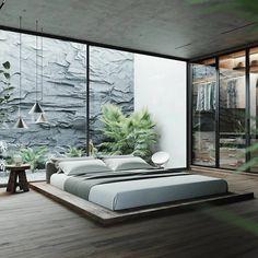 Simple Bedroom Design, Luxury Bedroom Design, Home Room Design, Dream Home Design, Home Interior Design, Master Bedroom Interior, Modern Bedroom Decor, Stylish Bedroom, Natural Bedroom