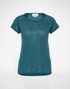 ROCKAMORA Shirt aus Leinen ´Annika´ Damen grün
