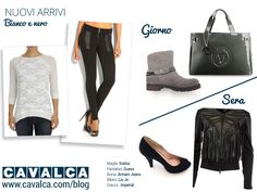 Day and night #outfit #look #fashion #cavalca #autunno #bag #shoes #kocca #guess #armanijeans #liujo #imperial
