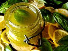 Meyer Lemon Basil Salad Dressing