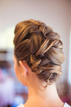 Stunning updo: http://www.stylemepretty.com/california-weddings/santa-barbara/2014/11/10/colorful-santa-barbara-wedding-2/ | Photography: Jessica  Fairchild - http://jessicafairchild.com/