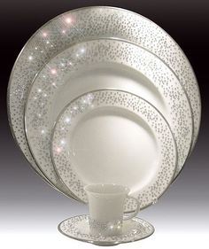 Beverly Harris Weddings and Events: Reception - A Place Setting That Sparkles