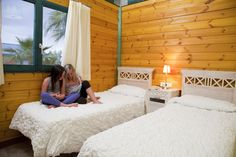 Villa Paradise, bungalow, camping, bedroom, kids, holidays, summer, verano, vacaciones, niños