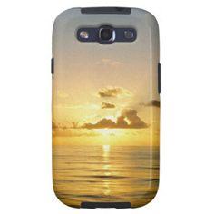 Sunset North of Bermuda Samsung Galaxy S3 Case