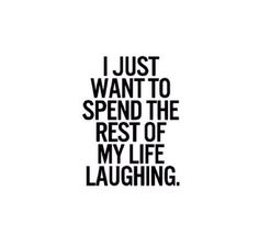 laughter.