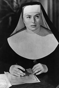Image Gallery: Making Movies Ingrid Bergman played a nun in the 1945 film ...  people.howstuffworks.com