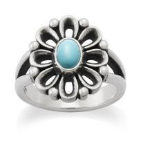De Flores Ring with Turquoise at James Avery