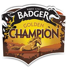 Golden Champion, as the name suggests a golden ale from the Badger Range.