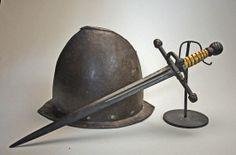 Sword & helmet