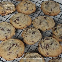 Overnight Chocolate Chip Cookies-letting the dough age does make a difference! I'm a big one for planning ahead. Sometimes. Maybe it's more about being efficient. Either way, when I do something, I make sure I don't have to do it again in the next few days. I'm constantly making cookies. In a house with three …