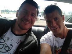 """""""Thank you Perth for your great restaurants and beautiful weather. See you again soon! — at City of Perth."""" August 17, 2012  - Manu Feildel & Pete Evans from Manu's Facebook page! Pete Evans, My Kitchen Rules, See You Again Soon, August 17, Great Restaurants, Perth, Weather, Facebook, City"""