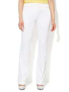 Shop Bleecker Street Straight-Leg Twill Pant. Find your perfect size online at the best price at New York & Company. Bleecker Street, Twill Pants, Accessories Shop, Capri Pants, Dress Up, Pajama Pants, New York, Legs, Clothes For Women