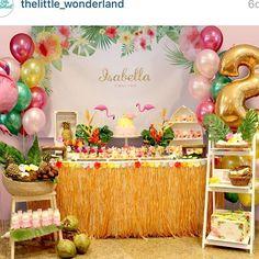 «Festa linda de @thelittle_wonderland #ideiasdebolosefestas #ideiasdefestas #inspiracao #aniversarioadulto #aniversarioinfantil #festainfantil #festamenina…»