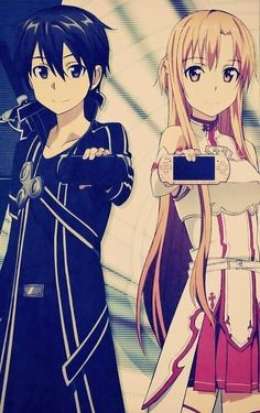 Kirito and Asuna / Sword Art Online