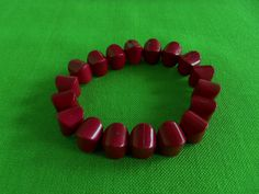 Vintage Beaded Stretch Bracelet Item 583 by LaylaBaylaJewelry