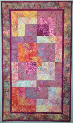 Quilts For Sale, Beautiful Color Combinations, Custom Quilts, Table Runners, Cotton Fabric, Pattern, Crafts, Collaboration, Environment