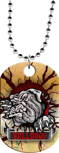 Buy Bulldog Mascot Monster Dog Tag - Lowest Prices Everyday on Dog Tags Sports Award Medals. Shop Trophy Depot's huge stock of trophies, medals, plaques and awards today! Trophy Store, Trophy Plaques, Custom Trophies, Bulldog Mascot, Engraved Plates, Cross Country, Ball Chain, Bulldogs, Dog Tags