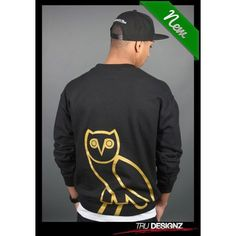 5d579719d87b2 Drake OVO Owl Started From The Bottom Sweatshirt