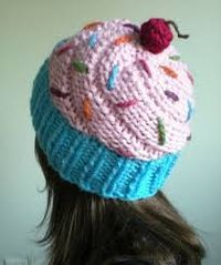 cupcake hat loom knitting