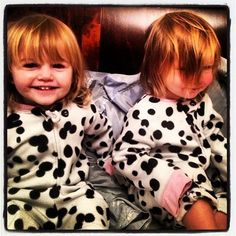 Luxie and her cousin Heidi :)
