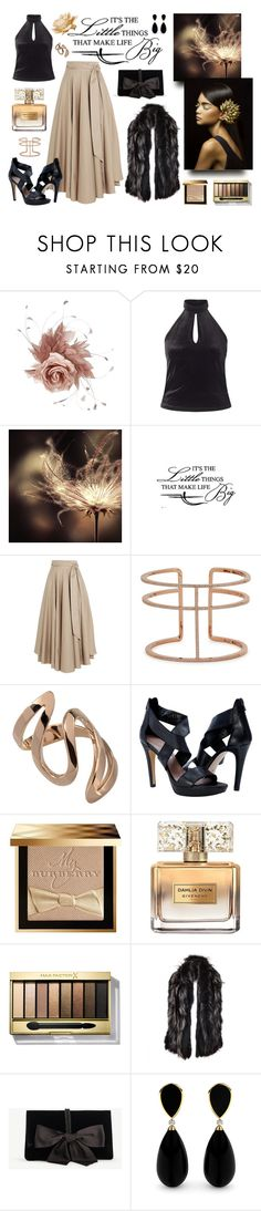 """""""Little Things for Big Moments"""" by classicstyle4u ❤ liked on Polyvore featuring NERIDA FRAIMAN, Miss Selfridge, TIBI, APM Monaco, Burberry, Givenchy, Max Factor, Gucci and Ann Taylor"""
