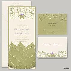 Water Lily Invitation - Tiana