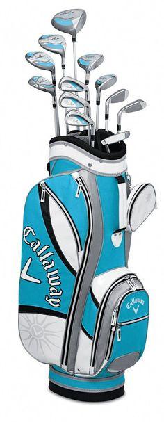 best website e5ea8 dd1b6 Callaway Womens Solaire Gems 13 Piece Complete Golf Club Sets  womensgolf   womensclubs  callaway