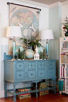 Gatherings Magazine blog- Christmas Home tour by Market Editor , @Trisha Brink
