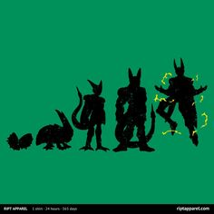 Cell Evolution T-Shirt   $10 Dragon Ball tee from RIPT today only!