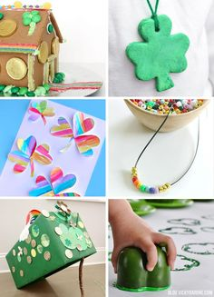 Things I Love: St. Patrick's Day Crafts for Kids - Vicky Barone