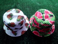 Pineapple Watermelon bucket hat!