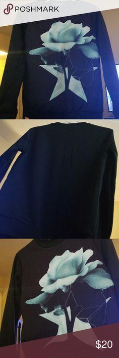 Boys custom star flower sweat shirt Custom sweat shirt. Boys size L. Worn once for photoshoot! Condition 10/10 & Other Stories Shirts & Tops Sweatshirts & Hoodies