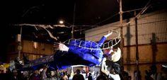 Trump effigy set ablaze in Mexico Easter ritual - http://www.saduseless.com/news/trump-effigy-set-ablaze-mexico-easter-ritual/