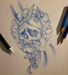 Skull #ozer #tatouage #tattoo #graffiti #loveletters #ironink #nantes #westcotedeporc #japanese #skull
