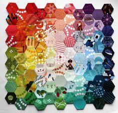 lizzy house hexagon mini wip