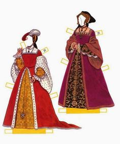Henry VIII. and his wives paper dolls - Onofer-Köteles Zsuzsánna - Picasa Web Albums