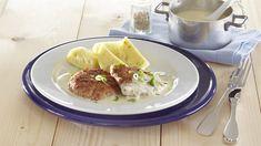 Medailonky z mletého masa s křenovou omáčkou Eggs, Breakfast, Food, Morning Coffee, Essen, Egg, Meals, Yemek, Egg As Food