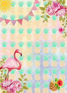Convite Flamingo Free Amor Em 2019 Pinterest Flamingo Birthday